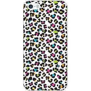 Jugaaduu Cheetah Leopard Print Back Cover Case For Apple iPhone 5c - J30085