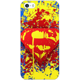 Jugaaduu Superheroes Superman Back Cover Case For Apple iPhone 5c - J30392