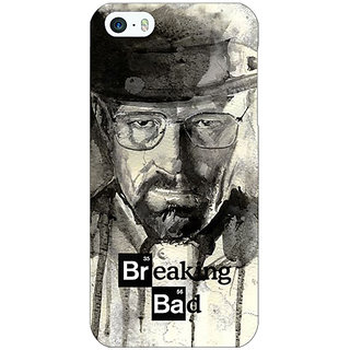 Jugaaduu Breaking Bad Heisenberg Back Cover Case For Apple iPhone 5c - J30419