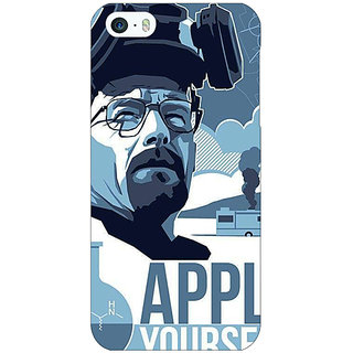 Jugaaduu Breaking Bad Heisenberg Back Cover Case For Apple iPhone 5c - J30424