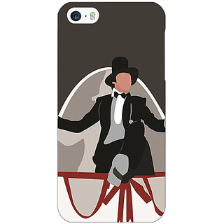 Jugaaduu Bollywood Superstar Anthony Gonsalves Back Cover Case For Apple iPhone 5c - J31115