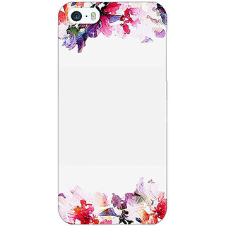 Jugaaduu Flowers Back Cover Case For Apple iPhone 5c - J31150