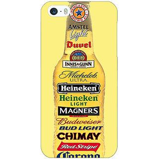 Jugaaduu Beer Bottle Back Cover Case For Apple iPhone 5c - J31248