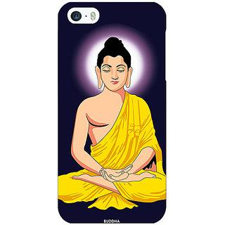 Jugaaduu Gautam Buddha Back Cover Case For Apple iPhone 5c - J31266