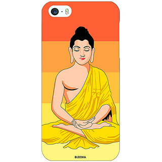 Jugaaduu Gautam Buddha Back Cover Case For Apple iPhone 5c - J31267