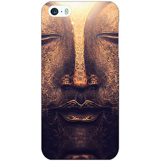 Jugaaduu Gautam Buddha Back Cover Case For Apple iPhone 5c - J31273