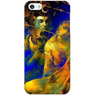 Jugaaduu Mahadev Shiv Shankar Bholenath Parvati Back Cover Case For Apple iPhone 5c - J31278