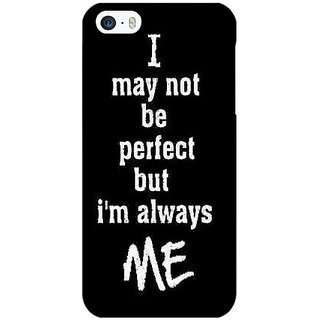 Jugaaduu Quote Back Cover Case For Apple iPhone 5c - J31289