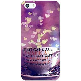 Jugaaduu Coffee Back Cover Case For Apple iPhone 5c - J31295