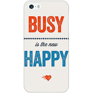 Jugaaduu Quote Back Cover Case For Apple iPhone 5 - J21325
