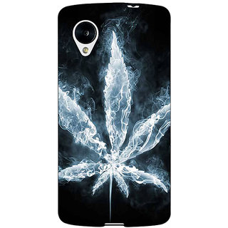 Jugaaduu Weed Marijuana Back Cover Case For Google Nexus 5 - J40498