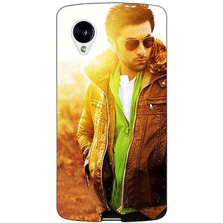 Jugaaduu Bollywood Superstar Ranbir Kapoor Back Cover Case For Google Nexus 5 - J40956
