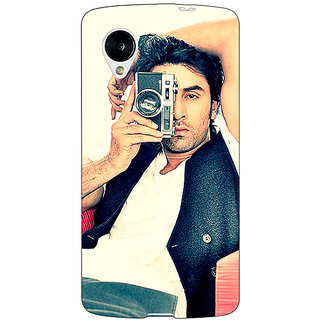 Jugaaduu Bollywood Superstar Ranbir Kapoor Back Cover Case For Google Nexus 5 - J40961