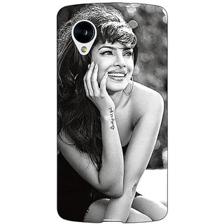 Jugaaduu Bollywood Superstar Priyanka Chopra Back Cover Case For Google Nexus 5 - J40969