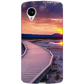 Jugaaduu Path To Heaven Back Cover Case For Google Nexus 5 - J41156