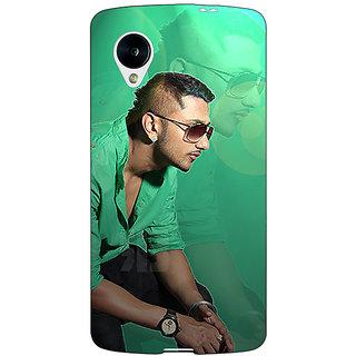 Jugaaduu Bollywood Superstar Honey Singh Back Cover Case For Google Nexus 5 - J41177