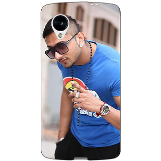 Jugaaduu Bollywood Superstar Honey Singh Back Cover Case For Google Nexus 5 - J41179