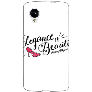 Jugaaduu Quotes Beautiful Back Cover Case For Google Nexus 5 - J41188