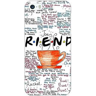 Jugaaduu FRIENDS Back Cover Case For Apple iPhone 5c - J30451