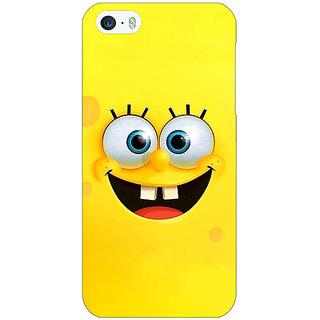 Jugaaduu Spongebob Back Cover Case For Apple iPhone 5c - J30467