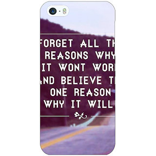 Jugaaduu Wise Quote Back Cover Case For Apple iPhone 5c - J31158