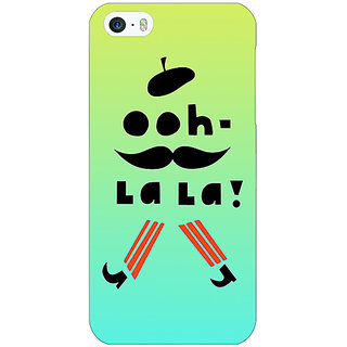 Jugaaduu Quotes OOH LALA Back Cover Case For Apple iPhone 5c - J31171
