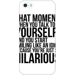 Jugaaduu Quote Back Cover Case For Apple iPhone 5c - J31314