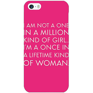 Jugaaduu Quote Back Cover Case For Apple iPhone 5c - J31343