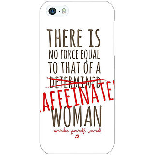 Jugaaduu Quote Back Cover Case For Apple iPhone 5c - J31347