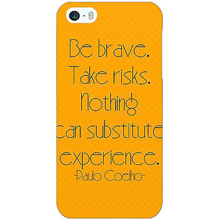 Jugaaduu Quote Back Cover Case For Apple iPhone 5c - J31354