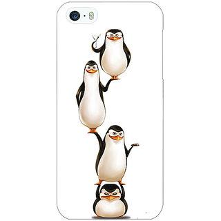 Jugaaduu Penguins Madagascar Back Cover Case For Apple iPhone 5c - J31385