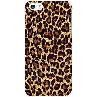 Jugaaduu Leopard Cheetah Pattern Back Cover Case For Apple iPhone 5c - J31387