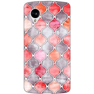 Jugaaduu Morrocan Pattern Back Cover Case For Google Nexus 5 - J40224