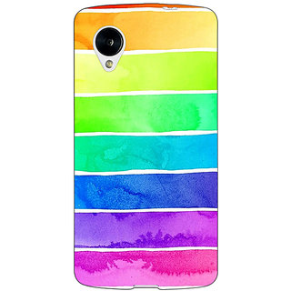 Jugaaduu Shades Of Life Pattern Back Cover Case For Google Nexus 5 - J40250