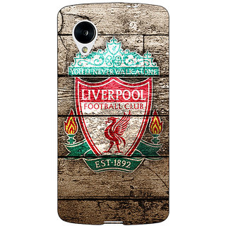 Jugaaduu Liverpool Back Cover Case For Google Nexus 5 - J40548