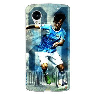 Jugaaduu Manchester City Back Cover Case For Google Nexus 5 - J40579