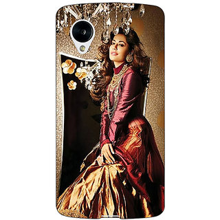 Jugaaduu Bollywood Superstar Chitrangada Singh Back Cover Case For Google Nexus 5 - J41033