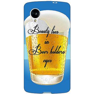 Jugaaduu Beer Holder Back Cover Case For Google Nexus 5 - J41208