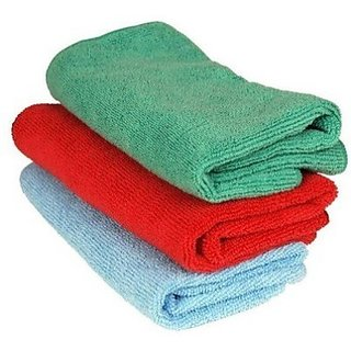 Microfibre Vehicle Washing Cloth (Pack Of 3)
