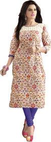 Khoobee Presents Cotton Stylish Kurti(Multi,Pink) KTKVKEN5086 KTKVKEN5086