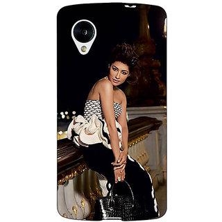 Jugaaduu Bollywood Superstar Chitrangada Singh Back Cover Case For Google Nexus 5 - J41036