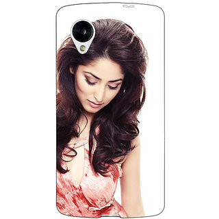 Jugaaduu Bollywood Superstar Yami Gautam Back Cover Case For Google Nexus 5 - J41043