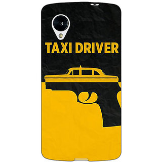 Jugaaduu Hollywood Taxi Driver Back Cover Case For Google Nexus 5 - J41095