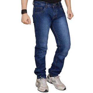 Krishna Enterprises Blue Slim Fit Jeans