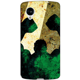 Jugaaduu Superheroes Hulk Back Cover Case For Google Nexus 5 - J40328
