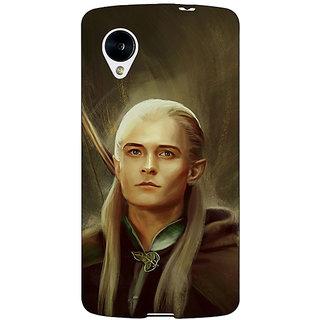 Jugaaduu LOTR Hobbit  Back Cover Case For Google Nexus 5 - J40375