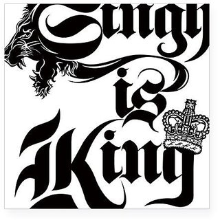Car Bike Sticker Decal For Singh Is King Bikes And Car Sticker