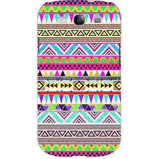 Jugaaduu Aztec Girly Tribal Back Cover Case For Samsung Galaxy S3 - J50051