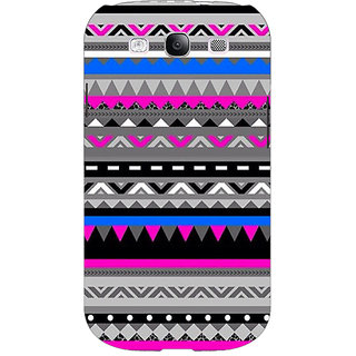Jugaaduu Aztec Girly Tribal Back Cover Case For Samsung Galaxy S3 - J50059
