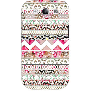Jugaaduu Aztec Girly Tribal Back Cover Case For Samsung Galaxy S3 - J50066